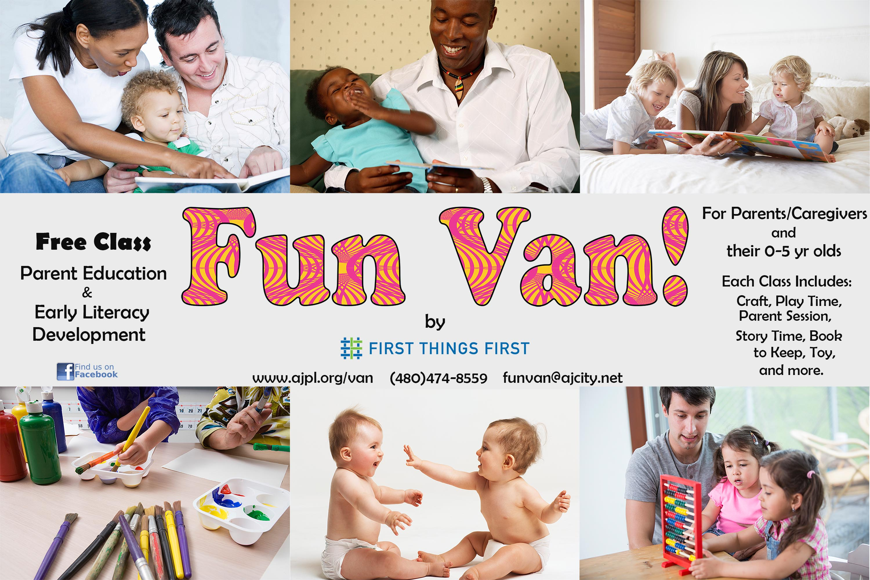 Fun Van supported by First Things First