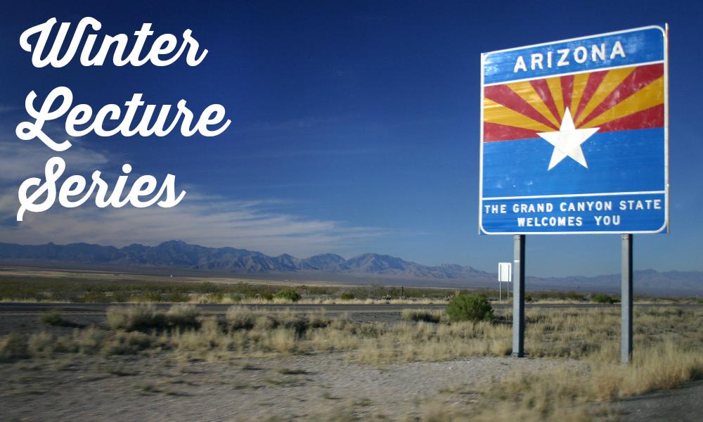 Arizona state highway sign