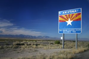 State Highway Sign AZ