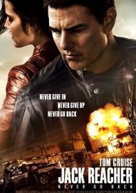 Jack Reacher Movie poster image