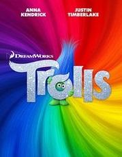 Trolls movie poster image