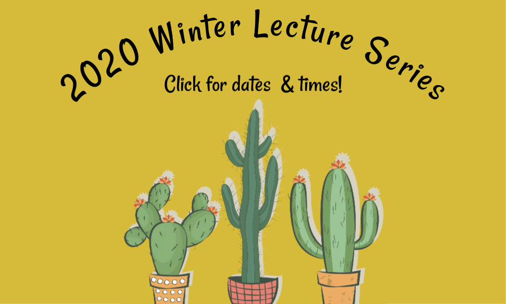 2020 Winter Lecture Series