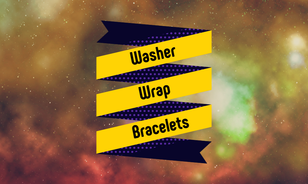 Washer Wrap Bracelets